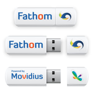 Fathom deep-learning USB stick firmy Movidius